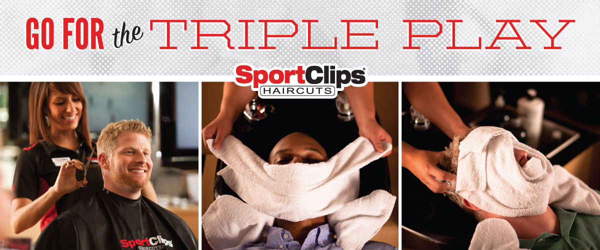 The Sport Clips Haircuts of Denver West Triple Play